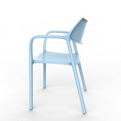 Krzesło Splash Aire niebieskie