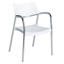 Krzesło Splash białe