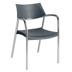 Krzesło Splash szare
