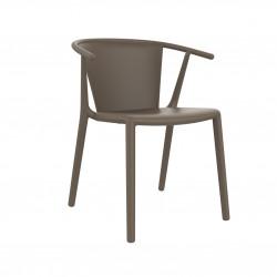 Krzesło Steely Brązowe