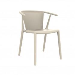 Krzesło Steely Ivory