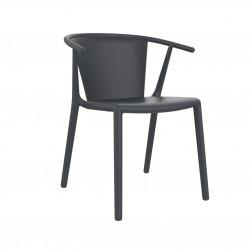Krzesło Steely Szare ciemne
