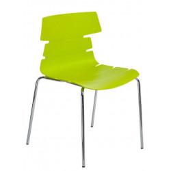 Krzesło Techno 4 PP zielone