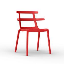 Krzesło Tokyo czerwone