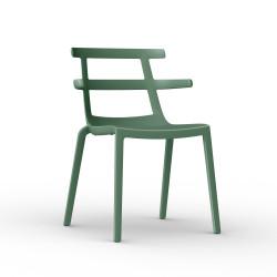 Krzesło Tokyo zielono-szare