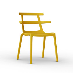 Krzesło Tokyo żółte
