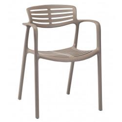 Krzesło Toledo Aire brązowy