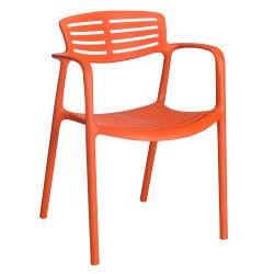 Krzesło Toledo Aire pomarańczowy