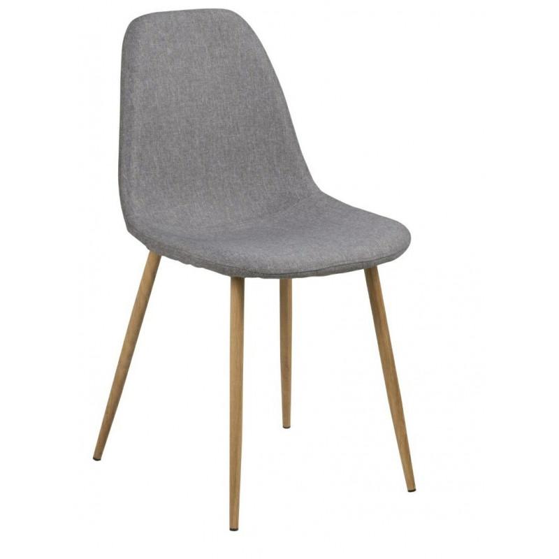 Krzesło Wilma Grey Dąb