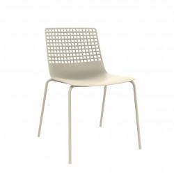 Krzesło Wire 4 beżowe jasne