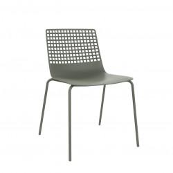 Krzesło Wire 4 brudny zielony
