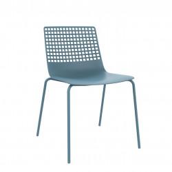 Krzesło Wire 4 niebieskie