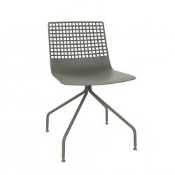 Krzesło Wire Arana brudny zielony