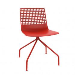Krzesło Wire Arana czerwone