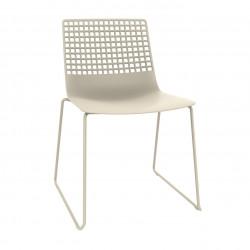 Krzesło Wire Patin beżowe jasne