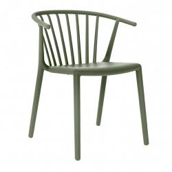 Krzesło Woody Zielone