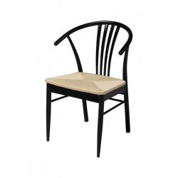 Krzesło York black