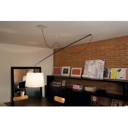 Lampa Robinson klosz beżowy, śr. 50 cm