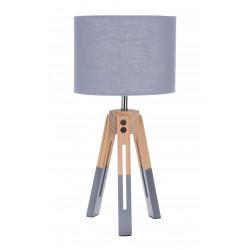 Lampka stołowa Intesi Brex szara