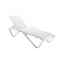 Leżak Sand biały