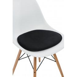 Poduszka na krzesło Side Chair czarna