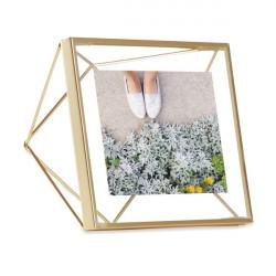 Ramka na zdjęcia 10 x 10cm, mosiądz, PRISMA
