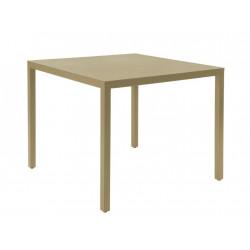 Stół Barcino 90x90 na 4 nogach piaskowy