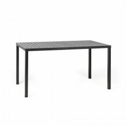 Stół Cube 140x80 antracytowy