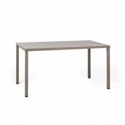 Stół Cube 140x80 beżowy