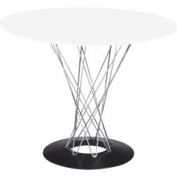 Stół Cyklon okrągły, biały
