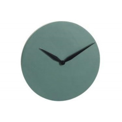 Zegar Modern Dark green