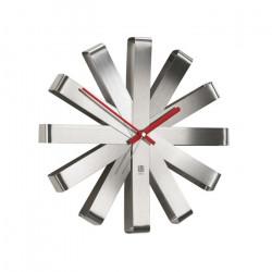 Zegar ścienny stalowy, RIBBON