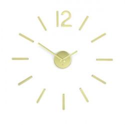 Zegar ścienny, złoty, Blink