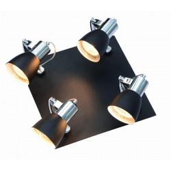 Rawenna 4 plafon czarny LP-727/4C czarny - Light Prestige