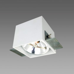 Corleto 1 podtynkowa LP-9S22/1R WH - Light Prestige