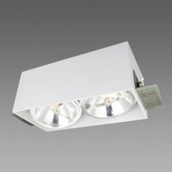 Corleto 2 podtynkowa LP-9S22/2R WH - Light Prestige