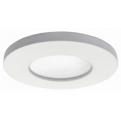 Oczko podtynkowe okrągłe nieruchome Lagos białe IP65 LP-440/1RS WH - Light Prestige
