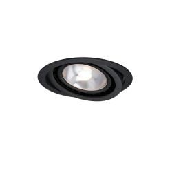 Nero oczko podtynkowe ruchome czarne LP-4424/1RS BK movable - Light Prestige