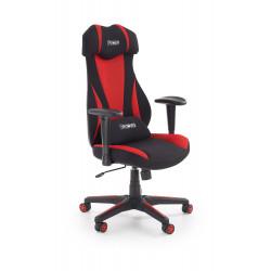 ABART fotel gabinetowy czarny / czerwony - Halmar