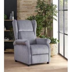 AGUSTIN fotel wypoczynkowy popiel - Halmar