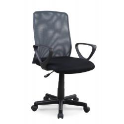 ALEX fotel pracowniczy czarno-szary - Halmar