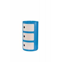 ALF kontenerek niebiesko-biały - Halmar