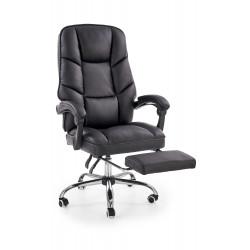 ALVIN fotel gabinetowy czarny - Halmar