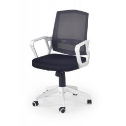 ASCOT fotel pracowniczy czarno-popielaty-biały - Halmar