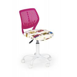 BALI fotel młodzieżowy różowy - Halmar
