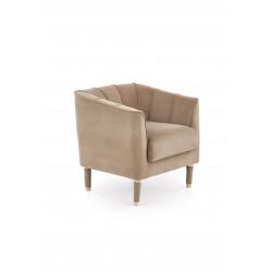BALTIMORE fotel wypoczynkowy ciemny beż - Halmar
