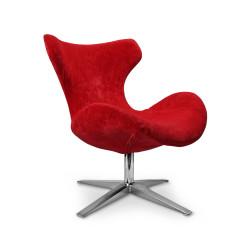 BLAZER fotel wypoczynkowy czerwony - Halmar