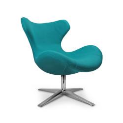 BLAZER fotel wypoczynkowy turkusowy - Halmar