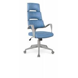 CALYPSO fotel gabinetowy niebieski / popielaty - Halmar