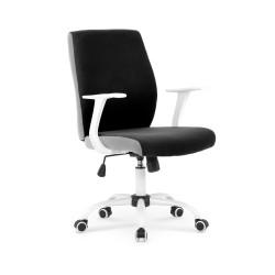 COMBO fotel pracowniczy czarno-popielaty - Halmar